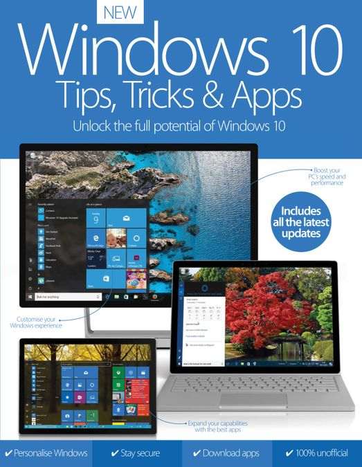 Windows 10 Tips, Tricks & Apps