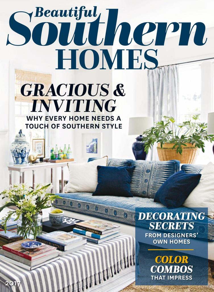 Beautiful Southern Homes - Issue Subscriptions
