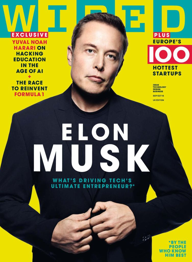 Back issues of WIRED UK