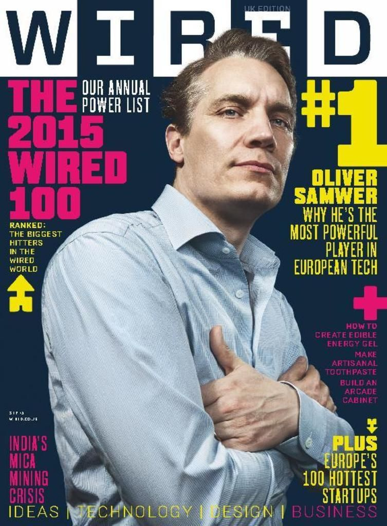 Wunderbar Wired Magazin Cover 2015 Zeitgenössisch - Elektrische ...