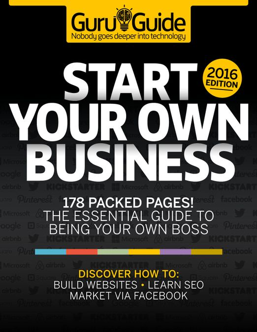 Tech Guru Guide: Start Your Own Business