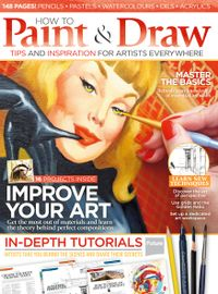 August 01, 2015 issue of How to Paint and Draw