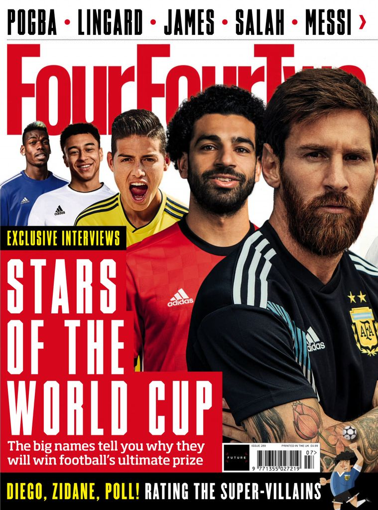 June 30, 2018 issue of FourFourTwo UK