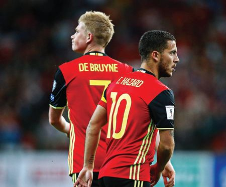 CAN BELGIUM SOLVE THEIR OWN LAMPARD & GERRARD PROBLEM?