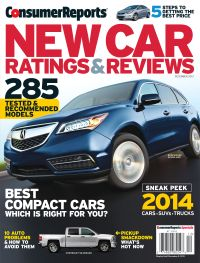 November 01, 2013 issue of New Car Ratings and Reviews