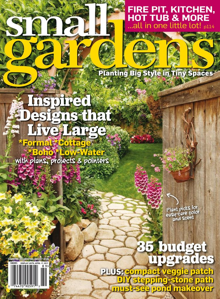 Small Gardens - Issue Subscriptions