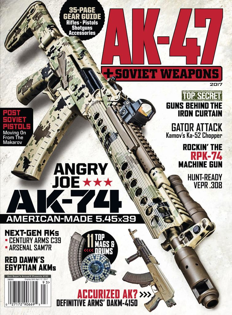 AK47 & Soviet Weapons - Issue Subscriptions