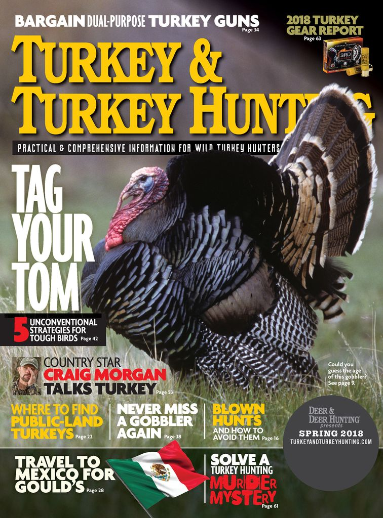 Turkey & Turkey Hunting - Issue Subscriptions