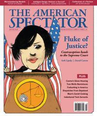 February 01, 2014 issue of The American Spectator
