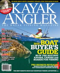 March 01, 2014 issue of Kayak Angler