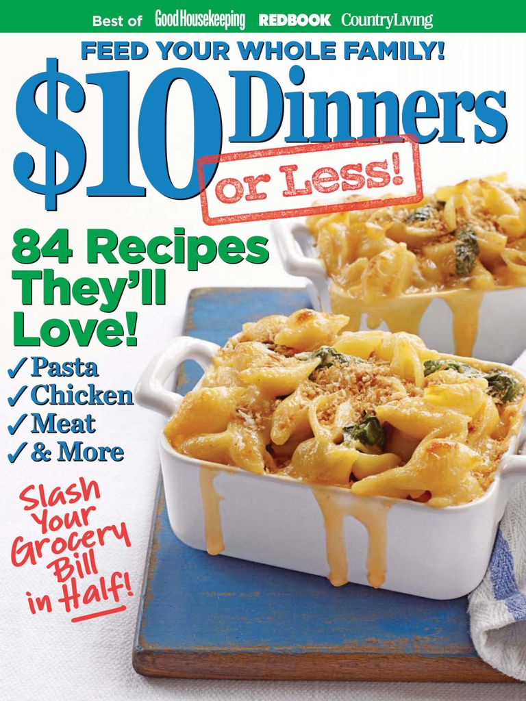 $10 DINNERS (OR LESS!) - Issue