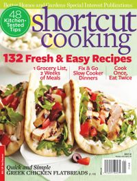 January 01, 2012 issue of Shortcut Cooking