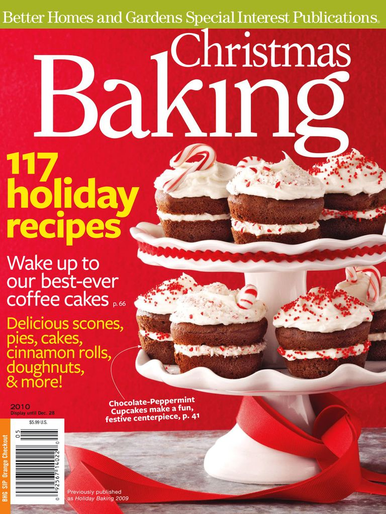Christmas Baking - Issue Subscriptions