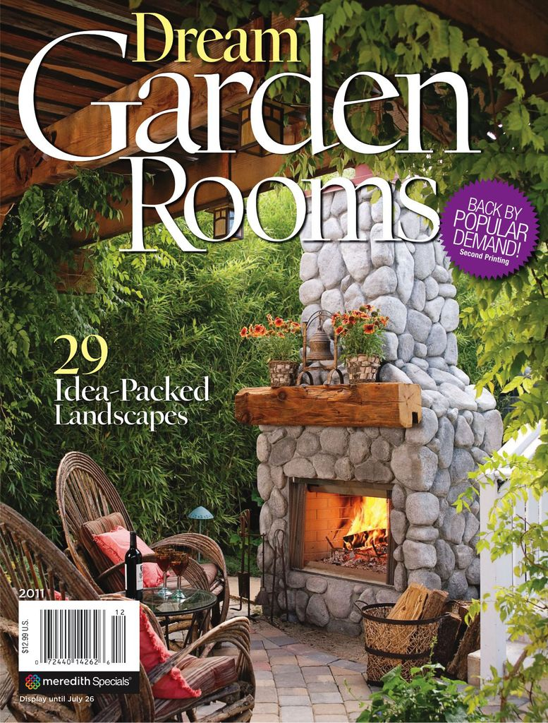 Dream Garden Rooms - Issue Subscriptions