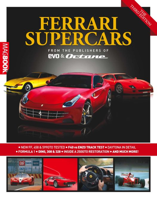 Ferrari Supercars The Third Edition
