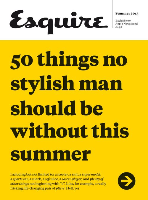 50 Things No Man Should Be Without