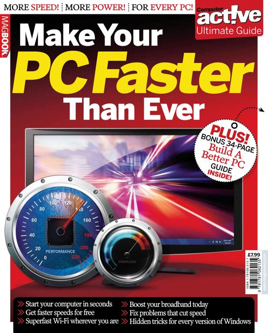 Computer Active Make Your PC Faster Than Ever