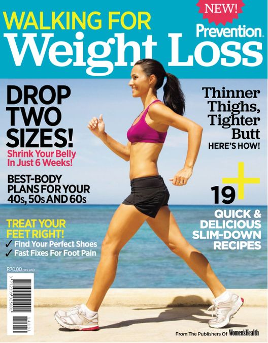 Prevention Special Edition - Walking for Weight Loss