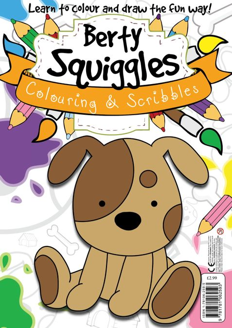 Berty Squiggles Colouring & Scribbles
