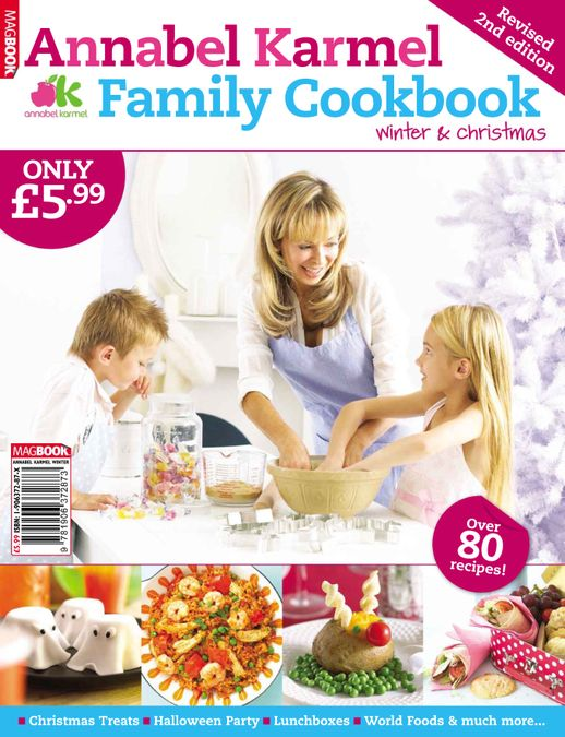 Annabel Karmel Family Cookbook Winter and Christmas 2009
