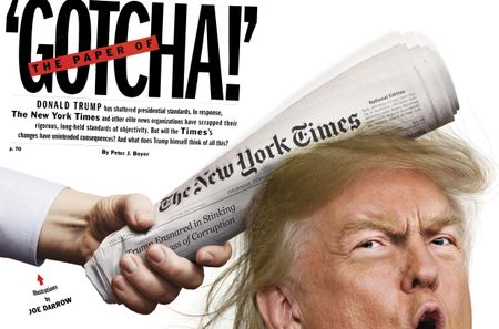 THE PAPER OF 'GOTCHA!'
