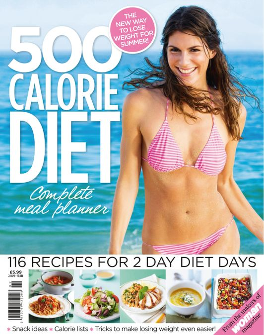 500 Calorie Diet Complete Meal Planner