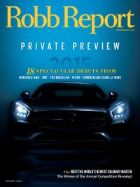 January 01, 2015 issue of Robb Report