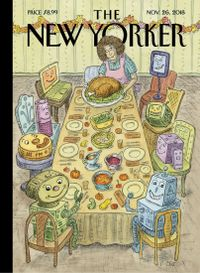 November 25, 2018 issue of The New Yorker