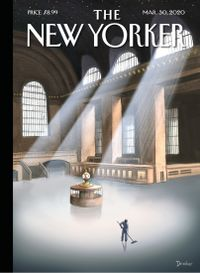 March 29, 2020 issue of The New Yorker