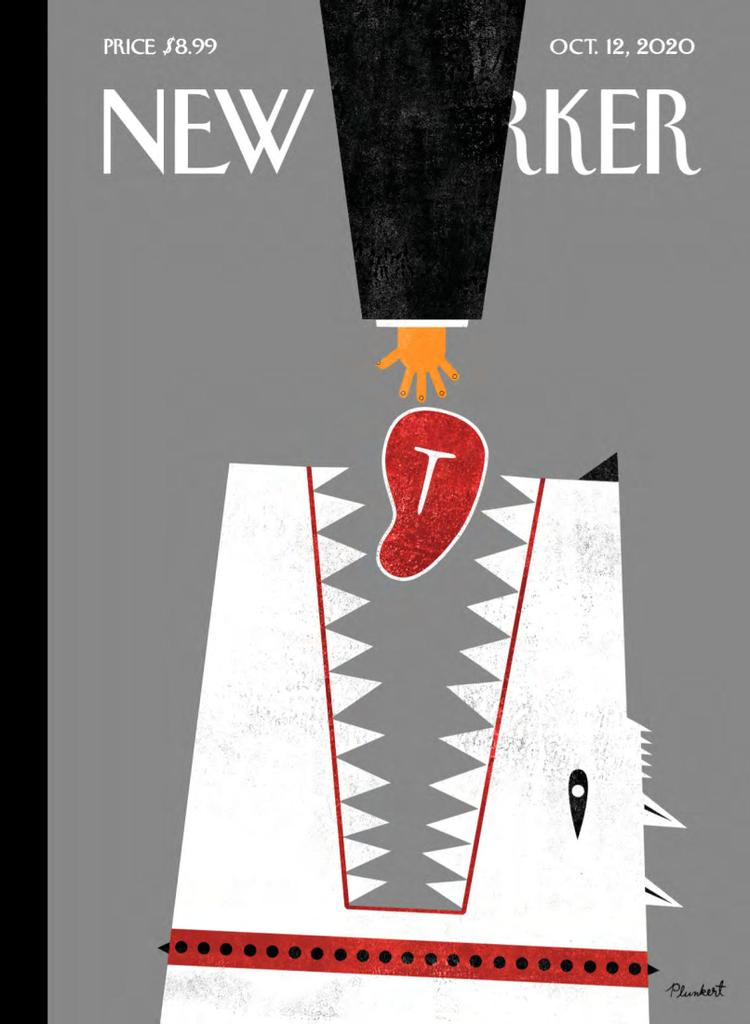The New Yorker, book cover