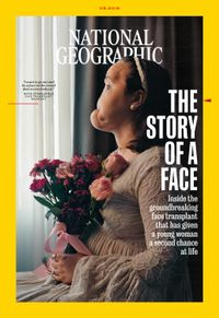 August 31, 2018 issue of National Geographic
