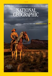 October 31, 2018 issue of National Geographic