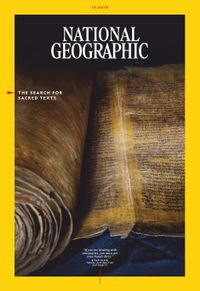 November 30, 2018 issue of National Geographic