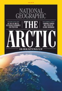 August 31, 2019 issue of National Geographic