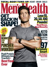 January 01, 2019 issue of Men's Health