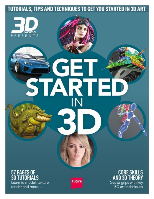 Get Started in 3D