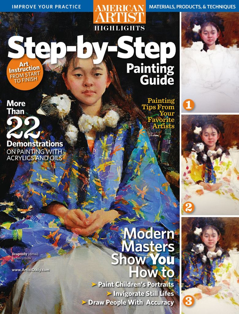 American Artist: Step by Step Painting Highlights - Issue Subscriptions