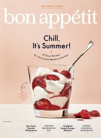 July 31, 2019 issue of Bon Appetit