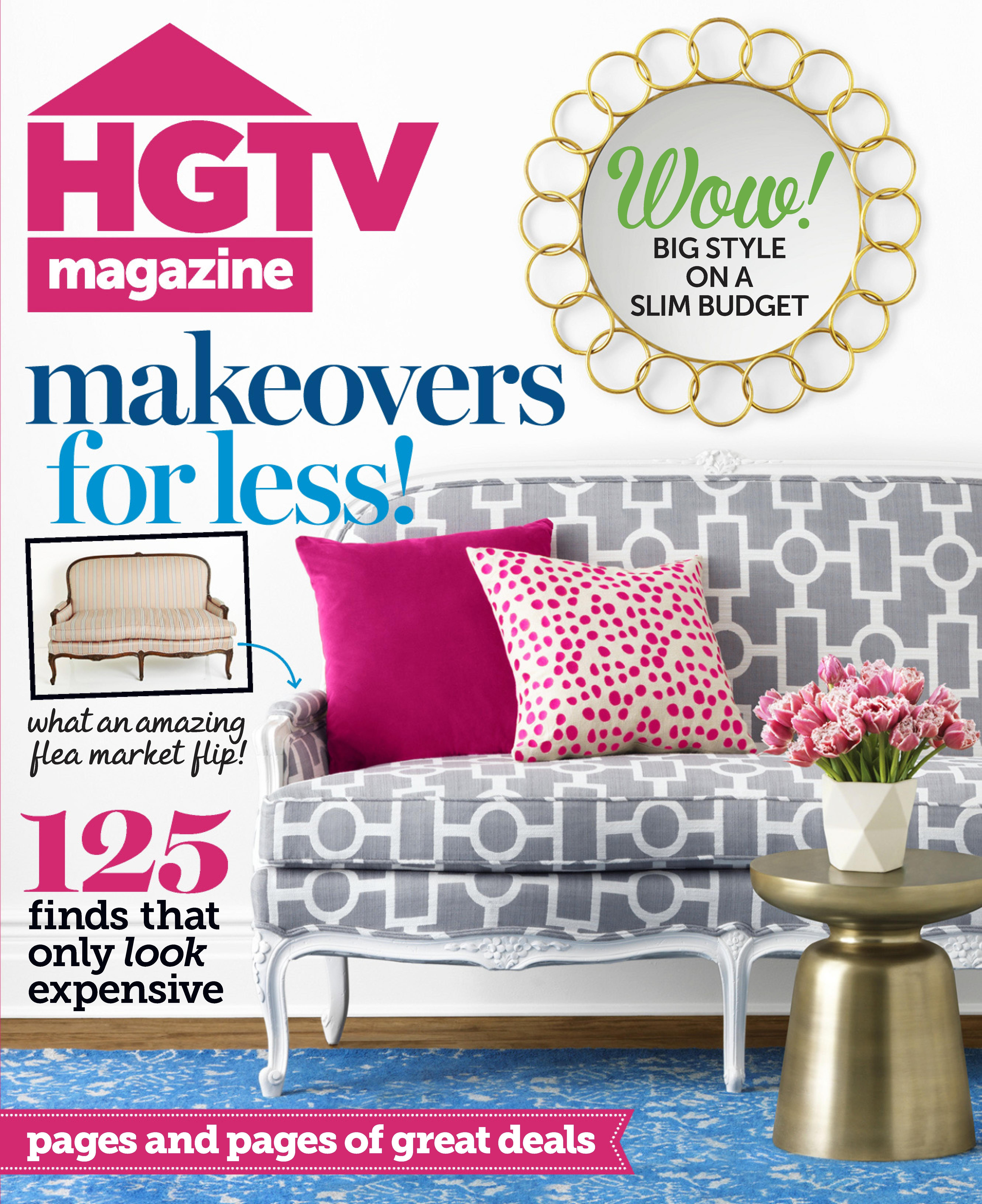Hgtv magazine cover giveaway