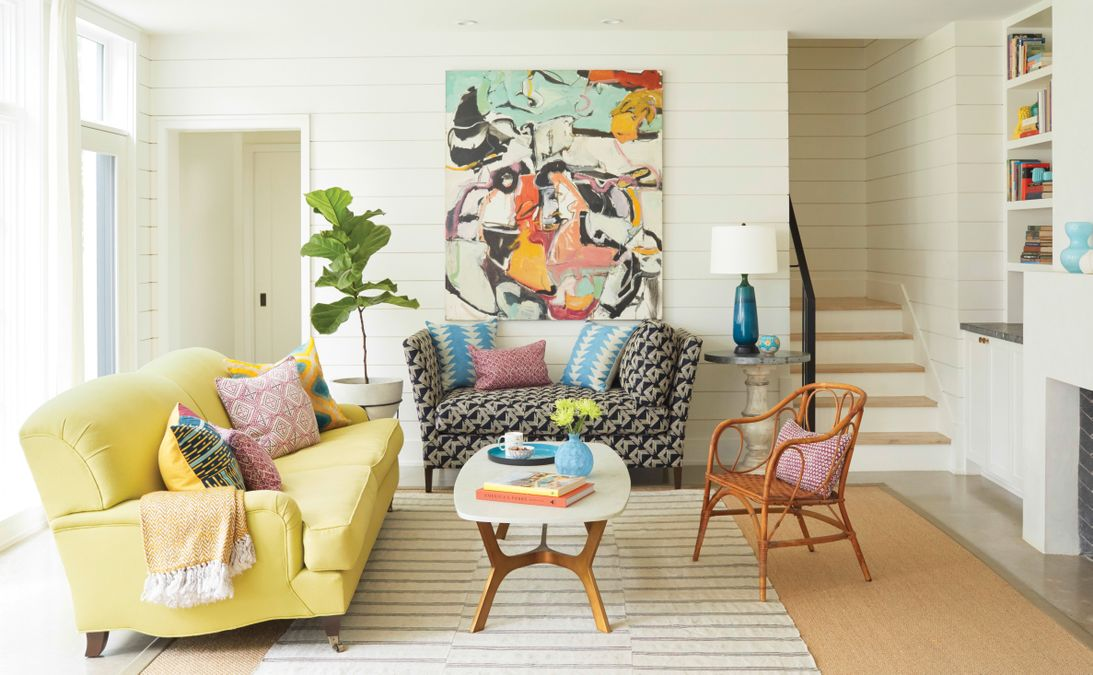 how to live with lots of color (and not get tired of it)