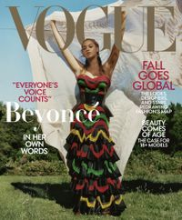 August 31, 2018 issue of Vogue