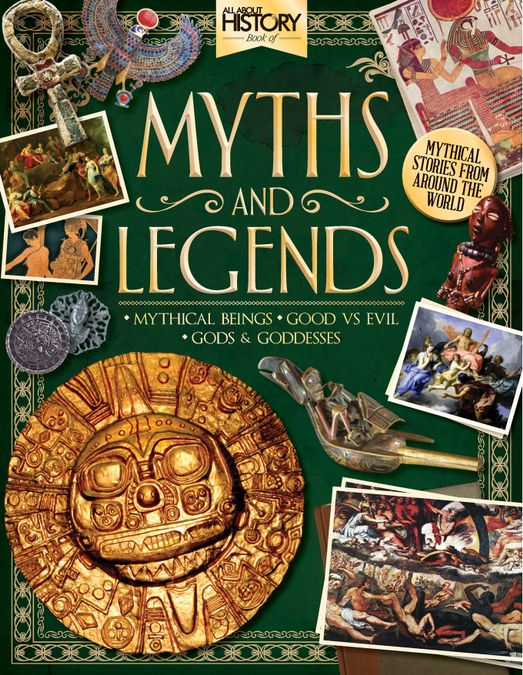 All About History Book Of Myths & Legends