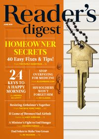 May 31, 2018 issue of Reader's Digest