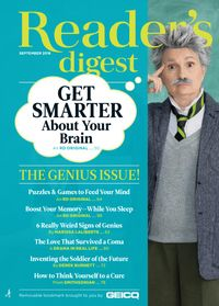 August 31, 2018 issue of Reader's Digest