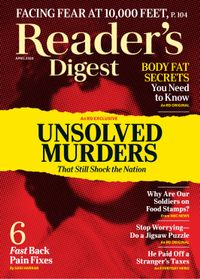 April 01, 2020 issue of Reader's Digest