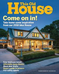 October 31, 2018 issue of This Old House