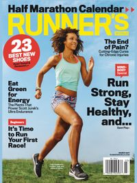 March 01, 2017 issue of Runner's World