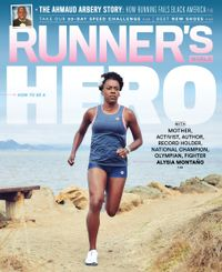 August 28, 2020 issue of Runner's World
