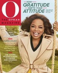 October 31, 2018 issue of O, The Oprah Magazine