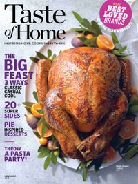 October 31, 2018 issue of Taste of Home